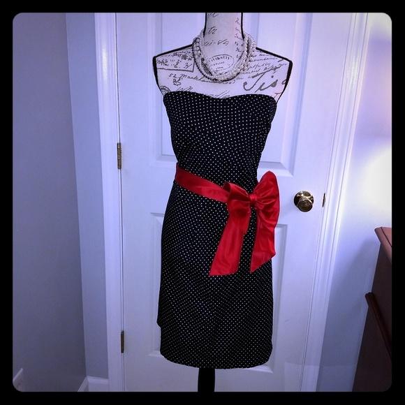 torrid Dresses & Skirts - Women's Torrid black & white polkadot dress
